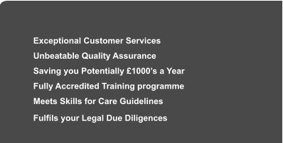 UK PCT Care Industry Training Specialists Since 1990